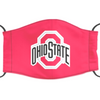 Ohio State Buckeyes Reusable Cotton Face Mask, Washable Face Mask with Adjustable Straps