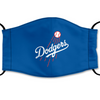 Los Angeles Dodgers Reusable Cotton Face Mask, Washable Face Mask with Adjustable Straps
