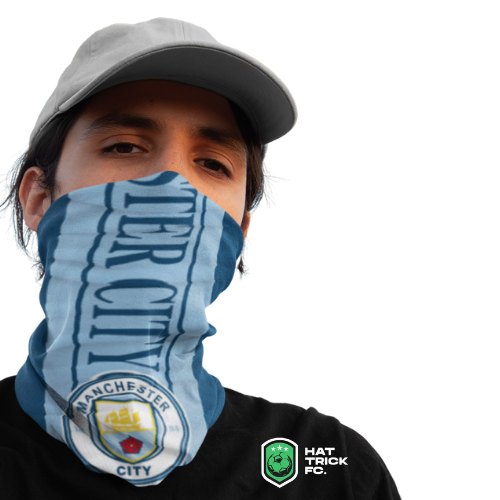 Manchester City 12-in-1 Multi-Functional Neck Gaiter