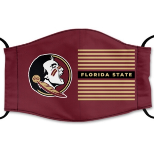 Florida State University Reusable Cotton Face Mask, Washable Face Mask with Adjustable Straps