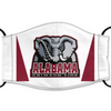 Alabama Crimson Tide Reusable Cotton Face Mask, Washable Face Mask with Adjustable Straps