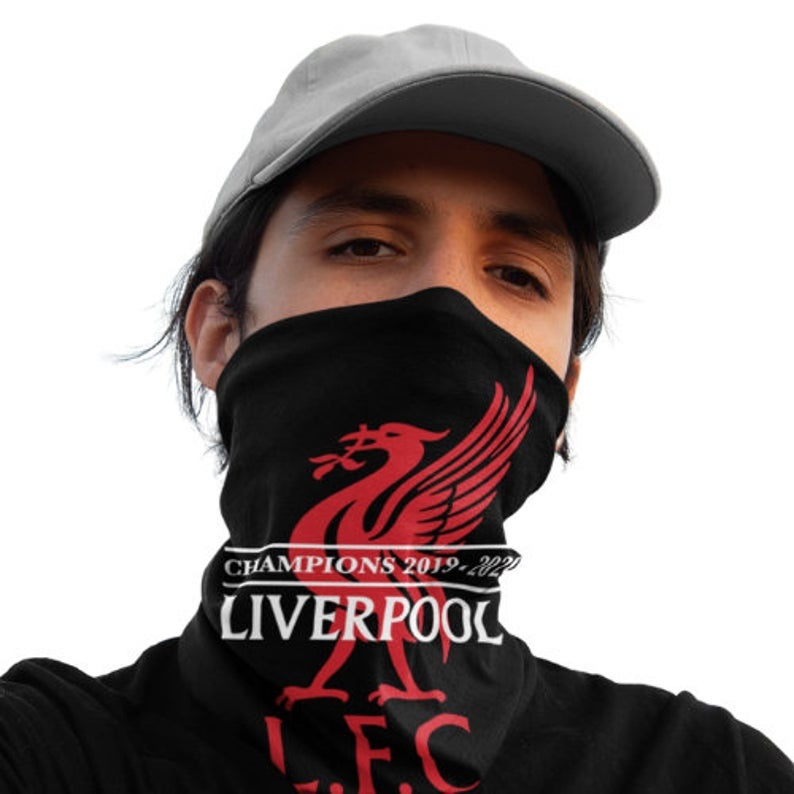 Liverpool F.C. Champion 2020 12-in-1 Multi-Functional Neck Gaiter