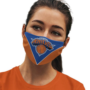 New York Knicks Reusable Cotton Face Mask, Washable Face Mask with Adjustable Straps
