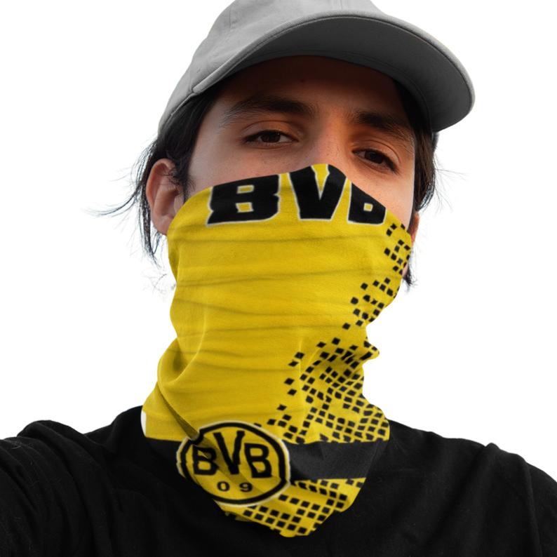 Borussia Dortmund 12-in-1 Multi-Functional Neck Gaiter