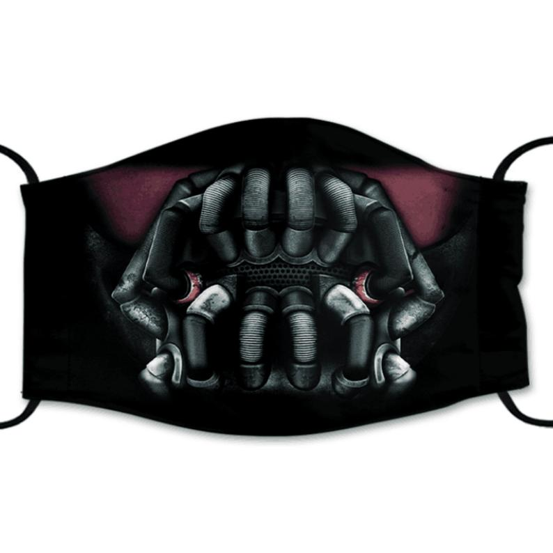Bane Reusable Cotton Face Mask, Washable Face Mask with Adjustable Straps