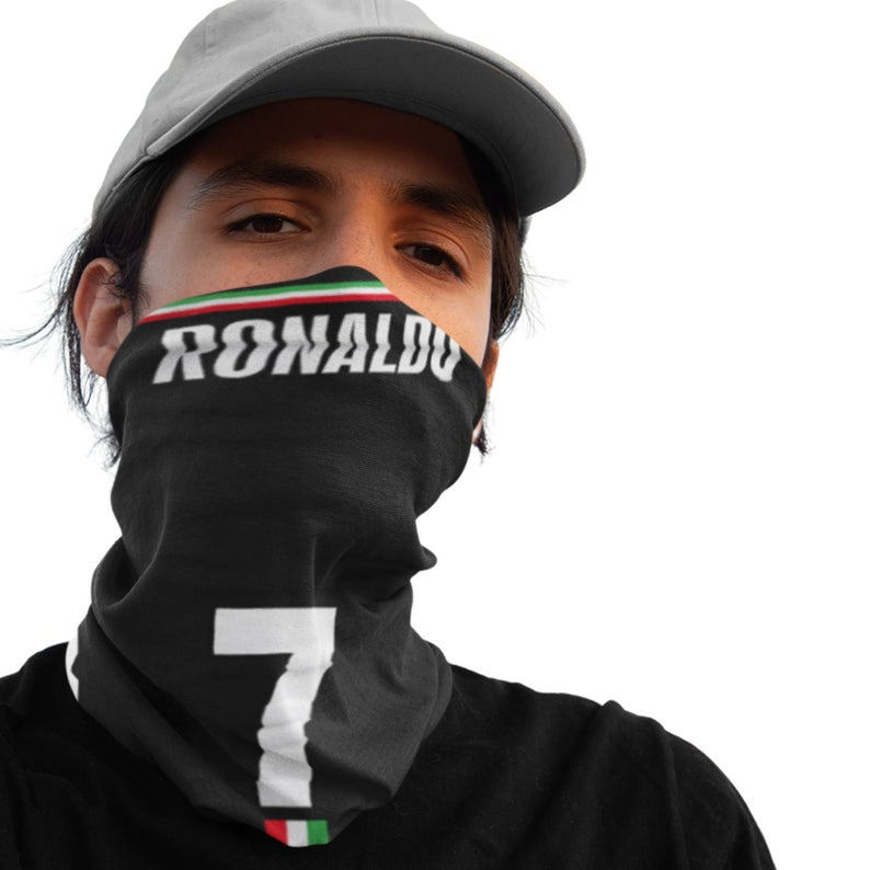 Christiano Ronaldo 12-in-1 Multi-Functional Neck Gaiter