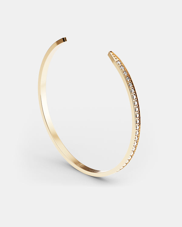 Diamond Bangle Polished