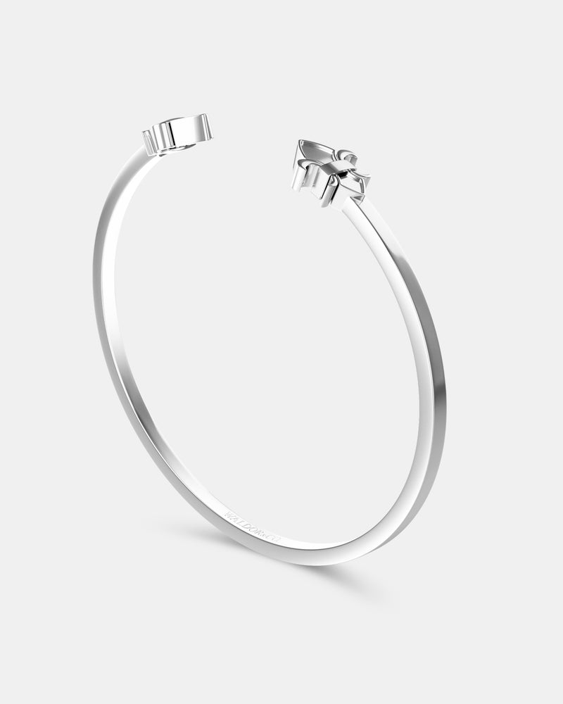 Icon Bangle Polished - Waldor & Co.