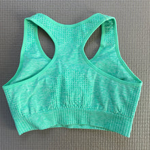 Load image into Gallery viewer, Pastel Green Peachy Sports Bra
