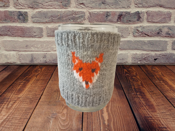 Knitted cup sweater, cup cover, cup insulation, cup cover.