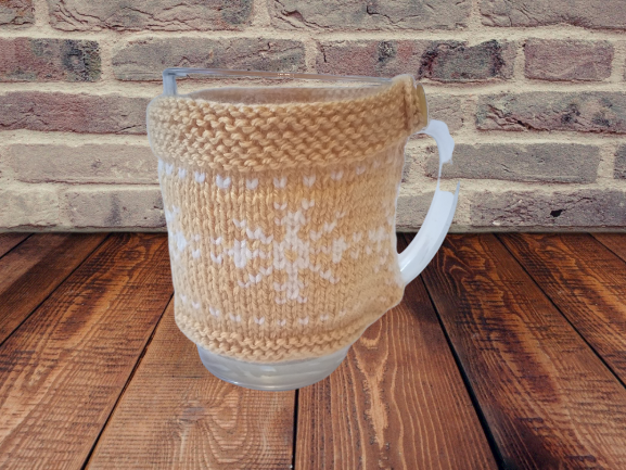 Christmas sweater cup,Knitted cup sweater one to choose