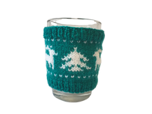 Load image into Gallery viewer, Christmas knitted deer cup cover,Knitted sweater cup one to choose from