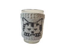 Load image into Gallery viewer, Cat sweater for cup, Knitted cup sweater one to choose