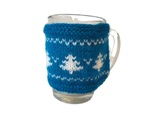 Load image into Gallery viewer, Christmas knitted sweater cup warmer Handmade Christmas trees