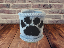 Load image into Gallery viewer, Кnitted sweater handmade paw cup warmer