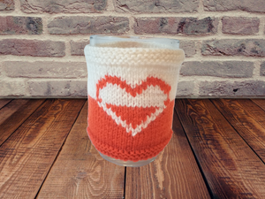 Knitted cup sweater, cup cover, cup insulation, cup cover
