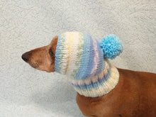 Load image into Gallery viewer, Warm hat for dog or cat, hat for dog, hat for small dog, hat for dachshund