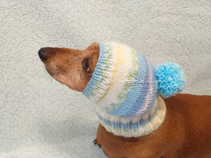 Warm hat for dog or cat, hat for dog, hat for small dog, hat for dachshund