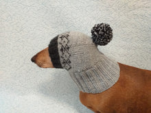 Load image into Gallery viewer, Warm hat for dog or cat, hat for dog, hat for small dog, hat for dachshund.