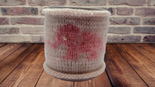 Load image into Gallery viewer, Knitted Tea Cosy, Crochet Coffee Cozy, Knit Cup Sleeve, Mug Warmer