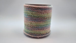 Warm knitted sweater Cup, Knitted Tea Cosy, Knitted Coffee Cozy