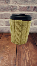 Load image into Gallery viewer, Knitted sweater case for handmade mug