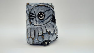 Decorative owl made of wood