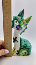 Load image into Gallery viewer, Wooden cat figurine