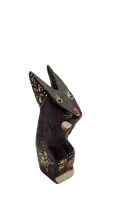 Load image into Gallery viewer, Figurine rabbit wooden