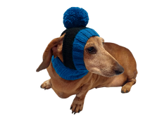 Load image into Gallery viewer, Warm hat for dog or cat, hat for dachshund