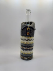 Decor Bottle, Wine Accessories, Knitted bottle,Wine Decor, Crochet Bottle, Bottle Sweater, Bottle Cozy, Gift Wine Bottle, Wine Case