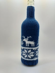 Christmas bottle cover, Christmas bottle decoration,Decor Bottle, Wine Accessories, Knitted bottle,Wine Decor Crochet Bottle Bottle Sweater