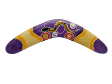 Load image into Gallery viewer, Wooden decorative boomerang