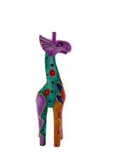 Load image into Gallery viewer, Giraffe decorative wooden figurine
