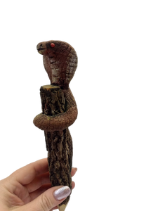 Decorative pencil snake