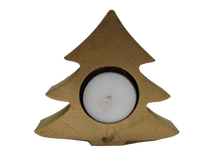 Load image into Gallery viewer, Christmas candlestick wooden tree