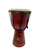 Load image into Gallery viewer, Decorative bamboo drum