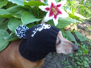 Deer hat for dog, christmas hat with deer dog clothes