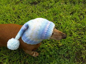 Winter knitted hat for small dog,hat for dog