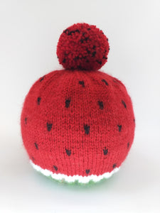 Hat watermelon for women, knitted hat halloween watermelon for women