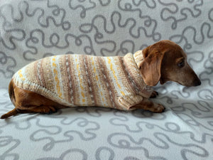 Knitted clothes dachshund sweater, dachshund clothes, dachshund sweater, doxie clothes