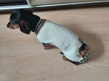 Load image into Gallery viewer, Sweater monkey for dog,Knitted sweater for dogs, clothes for dachshunds, sweater for dogs, clothes for dogs, sweater for small dogs