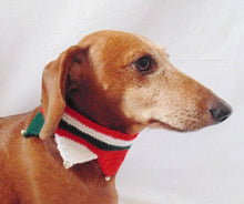 Load image into Gallery viewer, Christmas dog or cat collar - dachshundknit