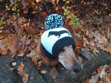 Load image into Gallery viewer, Handmade dachshund hat knitted for dogs - dachshundknit