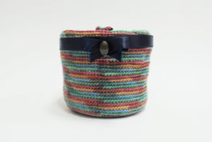 Knitted basket, basket for pencils. Basket for trifles - dachshundknit