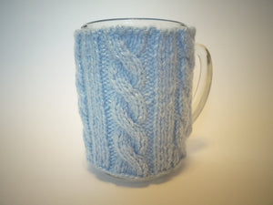 Knitted cup sweater, cup cover, case heating cup, sweater cup, insulation cup - dachshundknit