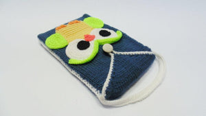 Knitted tablet case for owl, knitted tablet case, case for iPad - dachshundknit