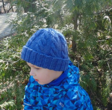 Winter hat for boy 2-5 years old