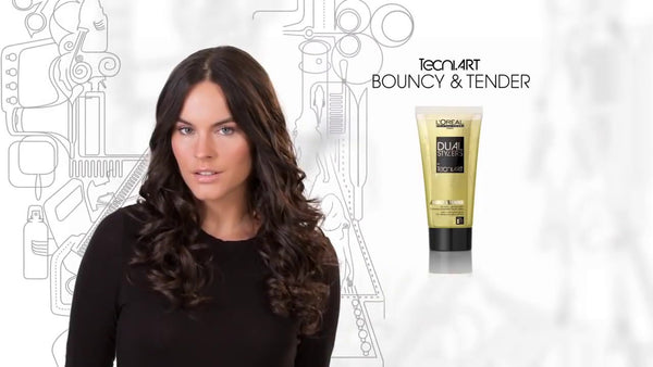 Bouncy & Tender -styling lotion