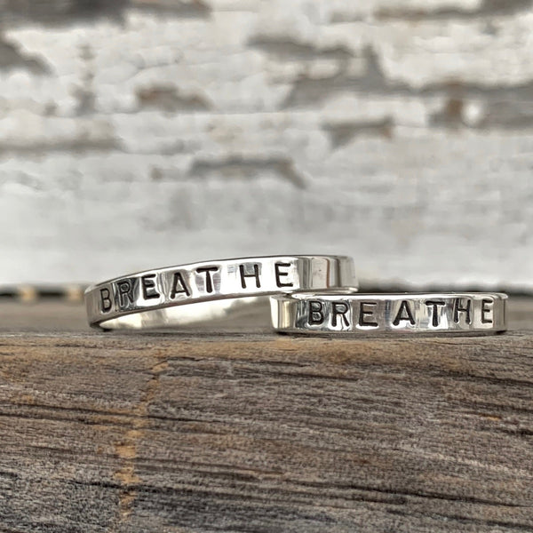 Breathe Ring in Silver